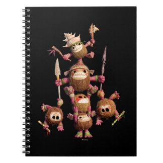 Moana | Kakamora - Coconut Pirates Notebook