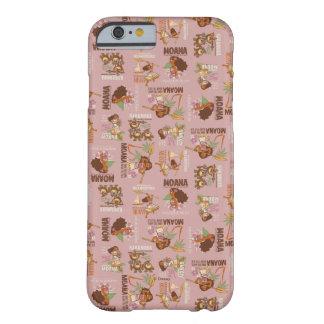 Moana & Kakamora Vintage Pattern Barely There iPhone 6 Case