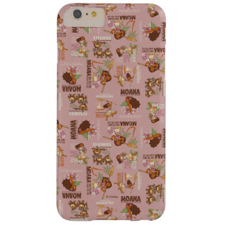 Moana & Kakamora Vintage Pattern Barely There iPhone 6 Plus Case