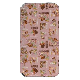 Moana & Kakamora Vintage Pattern Incipio Watson™ iPhone 6 Wallet Case
