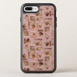 Moana & Kakamora Vintage Pattern OtterBox Symmetry iPhone 7 Plus Case