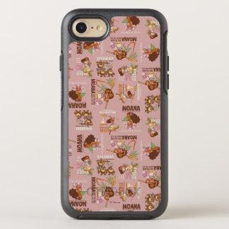 Moana & Kakamora Vintage Pattern OtterBox Symmetry iPhone 8/7 Case