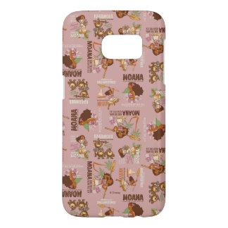 Moana & Kakamora Vintage Pattern Samsung Galaxy S7 Case