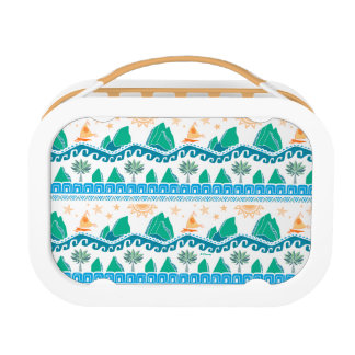 Moana | Land And Sea Are One - Pattern Lunch Box