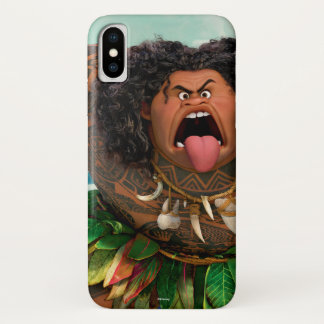 Moana | Maui - Don't Trick a Trickster iPhone X Case