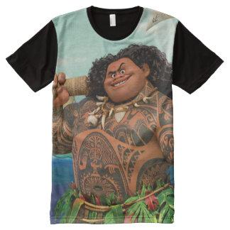 Moana | Maui - Hook Has The Power All-Over-Print T-Shirt