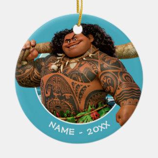 Moana | Maui - Hook Has The Power Ceramic Ornament