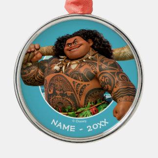 Moana | Maui - Hook Has The Power Metal Ornament