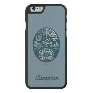Moana | Maui - Island Lifter Carved® Maple iPhone 6 Slim Case