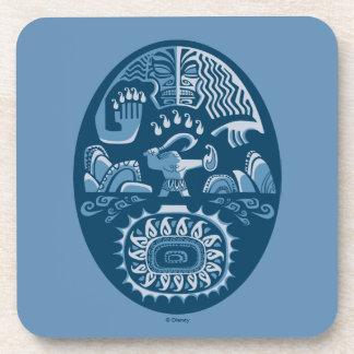 Moana   Maui - Island Lifter Drink Coaster