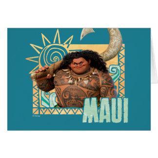 Moana | Maui - Original Trickster Card