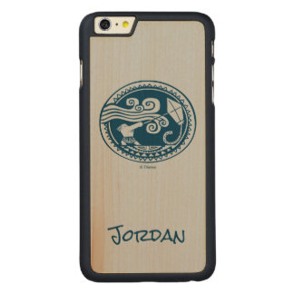 Moana | Maui - Trickster Carved® Maple iPhone 6 Plus Case