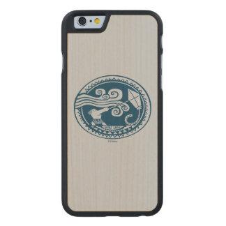 Moana | Maui - Trickster Carved® Maple iPhone 6 Slim Case