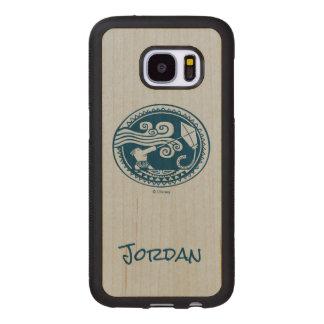 Moana   Maui - Trickster Wood Samsung Galaxy S7 Case
