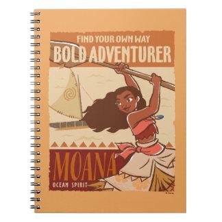 Moana | Ocean Spirit Spiral Notebook