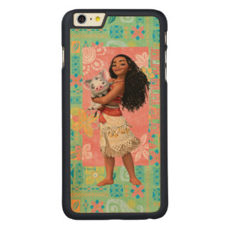 Moana | Pacific Island Girl Carved Maple iPhone 6 Plus Case