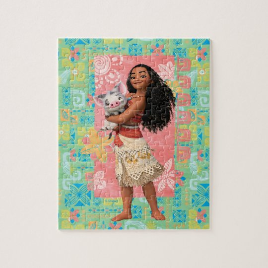 Moana | Pacific Island Girl Jigsaw Puzzle
