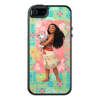 Moana | Pacific Island Girl OtterBox iPhone 5/5s/SE Case