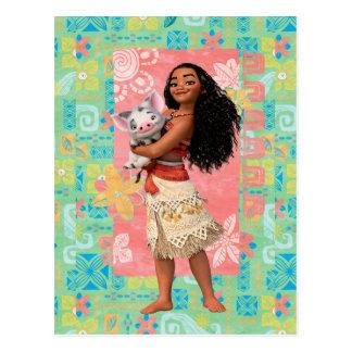 Moana   Pacific Island Girl Postcard