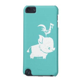 Moana | Pua & Heihei - Silhouette iPod Touch (5th Generation) Case