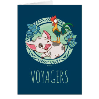Moana | Pua & Heihei Voyagers Card