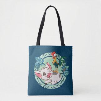 Moana   Pua & Heihei Voyagers Tote Bag