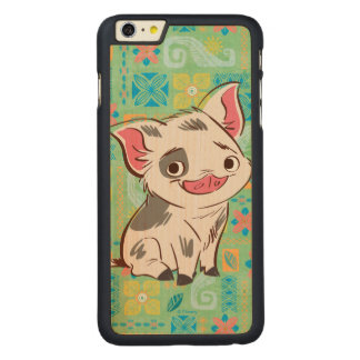 Moana   Pua - I'm No Bacon Carved Maple iPhone 6 Plus Case