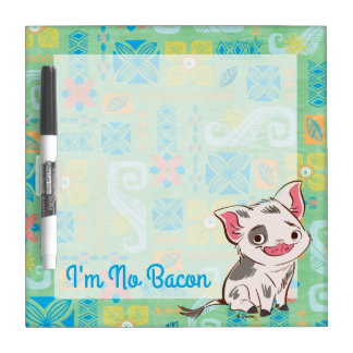 Moana | Pua - I'm No Bacon Dry-Erase Whiteboards
