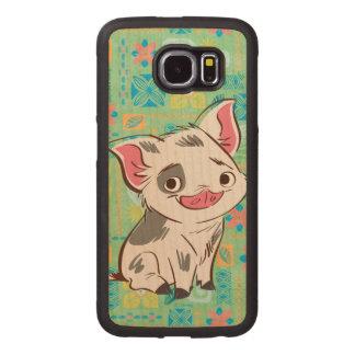 Moana | Pua - I'm No Bacon Wood Phone Case
