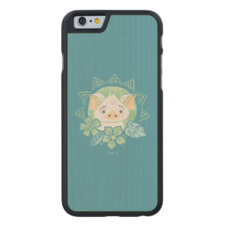 Moana | Pua - Not For Eating Carved Maple iPhone 6 Case