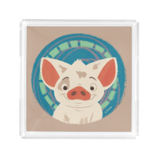 Moana   Pua The Pig Acrylic Tray