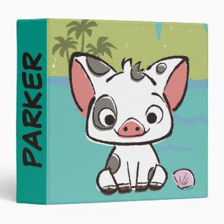 Moana | Pua The Pot Bellied Pig  Binder