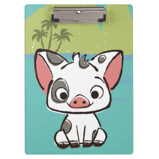 Moana | Pua The Pot Bellied Pig  Clipboard