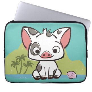 Moana | Pua The Pot Bellied Pig  Laptop Sleeve