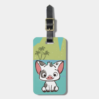 Moana | Pua The Pot Bellied Pig  Luggage Tag