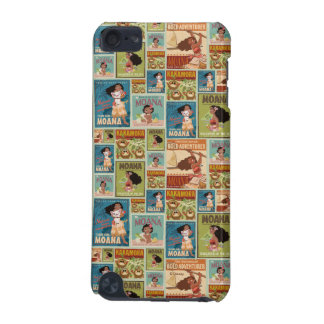 Moana | Retro Poster Pattern iPod Touch 5G Case