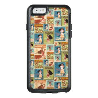 Moana | Retro Poster Pattern OtterBox iPhone 6/6s Case