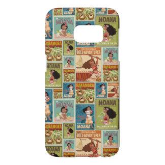 Moana | Retro Poster Pattern Samsung Galaxy S7 Case