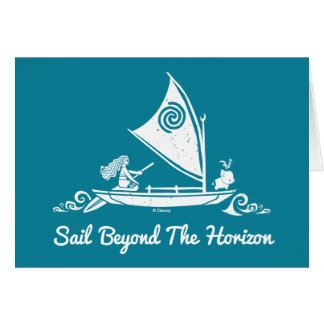 Moana | Sail Beyond The Horizon Card
