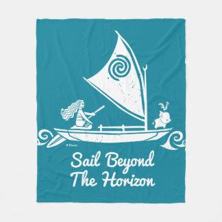 Moana | Sail Beyond The Horizon Fleece Blanket