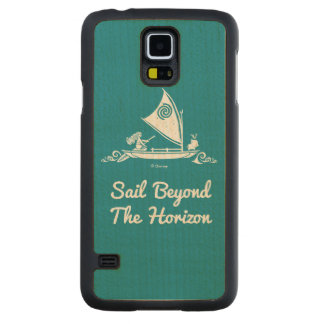 Moana | Sail Beyond The Horizon Maple Galaxy S5 Slim Case