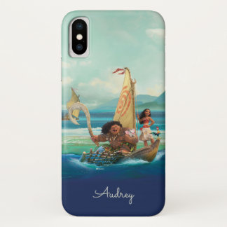 Moana | Set Your Own Course iPhone X Case