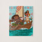 Moana   Set Your Own Course Jigsaw Puzzle