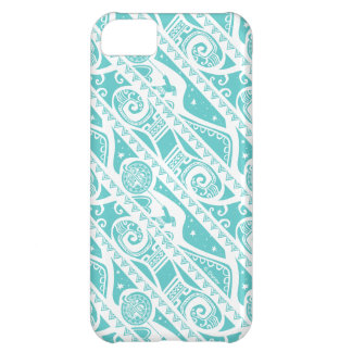 Moana   Teal Tribal Pattern iPhone 5C Covers