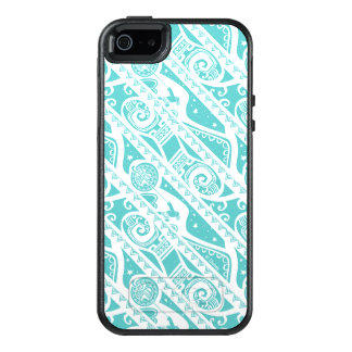 Moana | Teal Tribal Pattern OtterBox iPhone 5/5s/SE Case