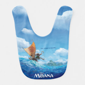 Moana | The Ocean Is Calling Bib