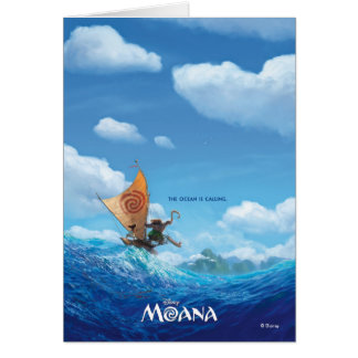 Moana | The Ocean Is Calling Card