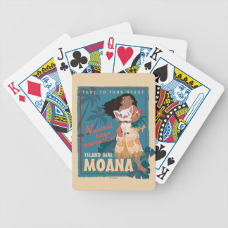 Moana | True to Your Heart Bicycle Playing Cards