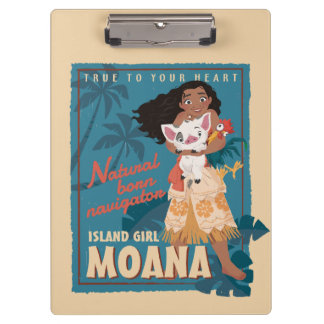 Moana | True to Your Heart Clipboard