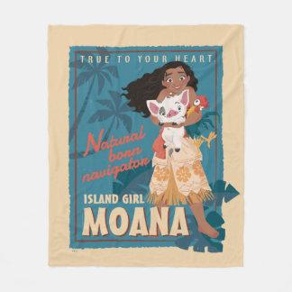 Moana | True to Your Heart Fleece Blanket